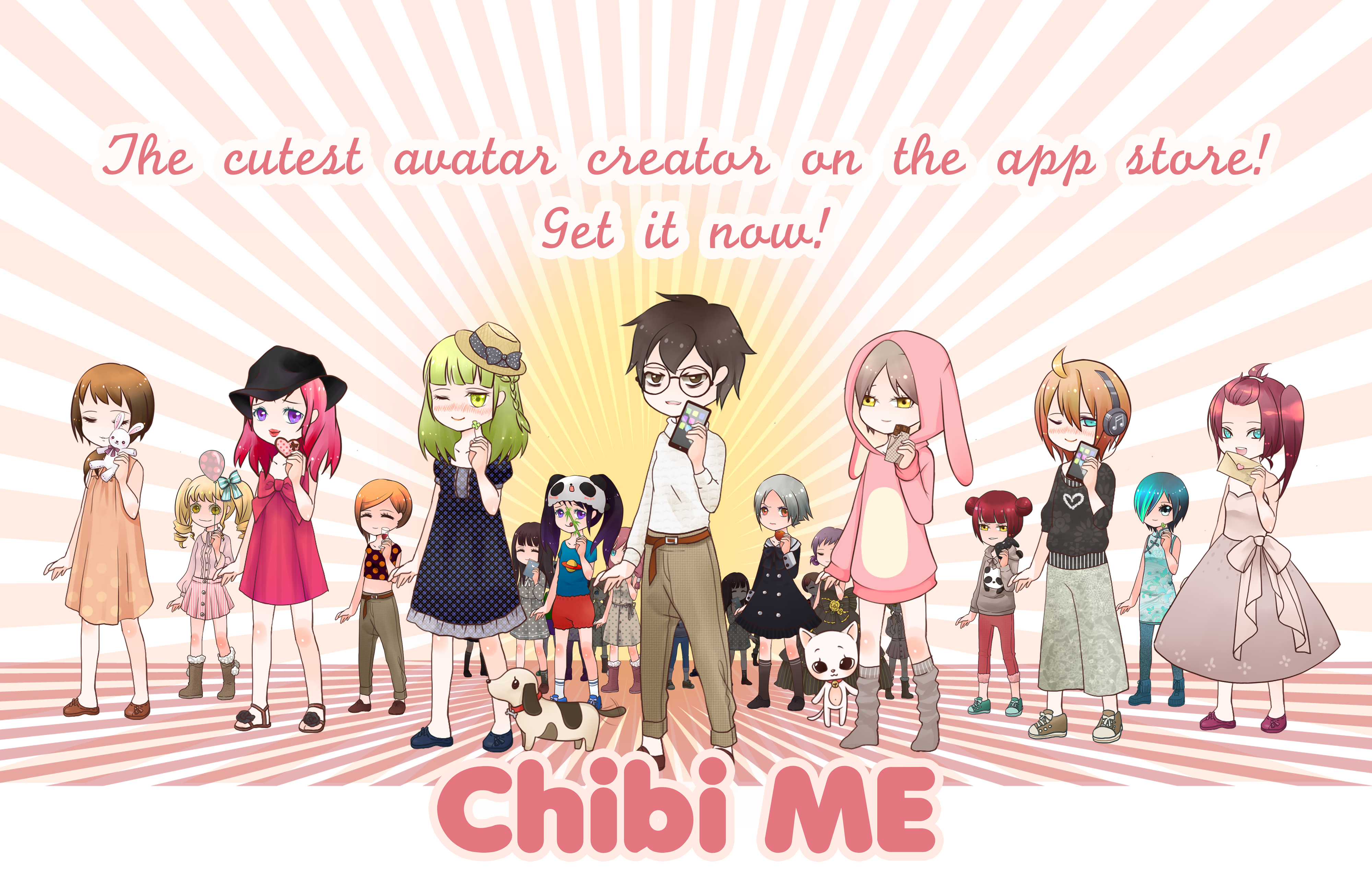 Design Your Anime Character Game : Chibi me dress up lucium